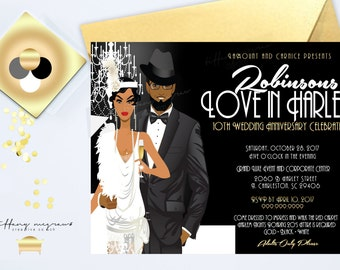 Harlem Nights Party Etsy