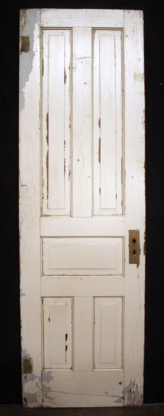 26 x84 antique vintage victorian solid wood wooden for Vintage solid wood doors
