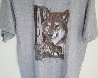 Alpha Wolves Utah Tee
