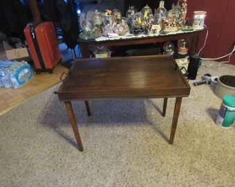 Vintage Ferguson Bros Folding Tray Table 8063