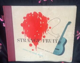 Strange fruit by josh white 78's