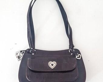 BRIGHTON Purse BRIGHTON Brighton HANDBAG Brighton Bag Purse Leather Purse Bags and Purses Handbags Leather Handbag Designer Handbags Vintage