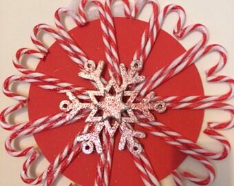 Candy Cane Wreath, christmas, xmas wreath