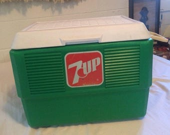 Retro 7UP Brand Cooler