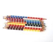 Vintage Colored Pencils - Dual Colored Pencils - Sunset Dual Kolor by Empire - Vintage Double-Sided Color Pencils