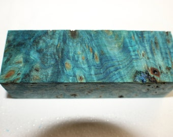 Stabilized Buckeye Burl Wood