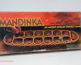 Mandinka African Strategy Game from Lowe 1978 COMPLETE (read description)