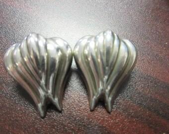 Sterling Silver Earrings Clip On