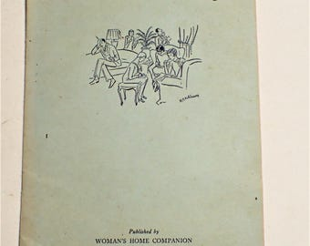 Games For Grownups Booklet Published By Womans Home Companion 1929