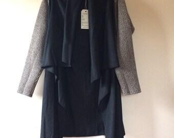 Black Wool Cardigan | Wool Cardigan | Black Cardigan | Wool Wrap | Black Sweater | Black Cardigan | Black | Cardigan | Wool | Sweater |