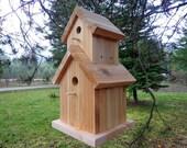 2 Custom Bird Houses