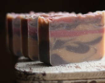Spice Rack Handmade Soap, Homemade Soap, Cold Process Soap, All Natural Soap, Vegan Soap, Cardamom Anise Cinnamon Soap