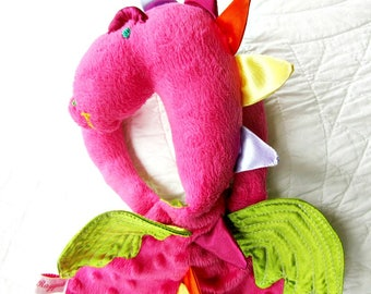 Daphne the Dragon/Dinosaur Raggie, with Wings or without..