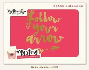My Story Card Set by My Mind's Eye Paper Goods | Note Cards | All Occasion Cards