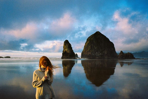 Lauren in Oregon. 11x17 Handmade Fine Art Print. Signed by Ryan Muirhead