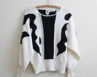 Slouchy Mod Sweater Small Medium Les Mode Spirito d'Italia