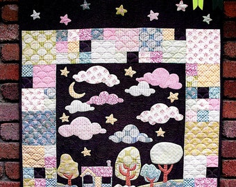 "Pattern ""Hush"" by Matching Pegs (CG032) Applique Quilt Pattern"