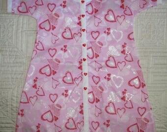 Designer Baby/Infant/New Born Girl Hospital Gown/Robe-FREE Shipping