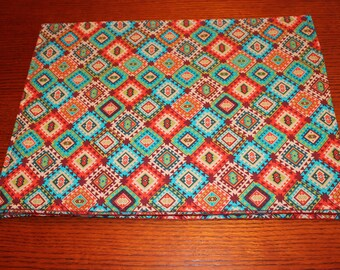 Southwestern Placemats - Reversible - Set of 4
