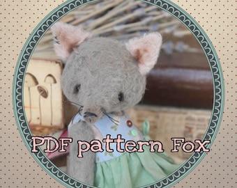 Pattern for 5,3 Inch Fox Teddy PDF