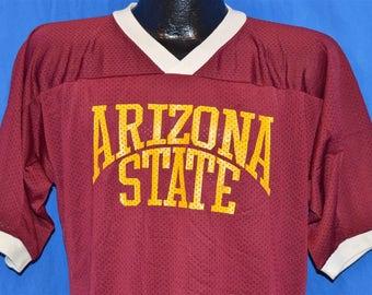 80s Arizona State Sun Devils Jersey t-shirt Large