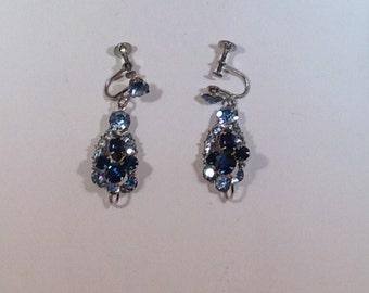 Blue Juliana Earrings