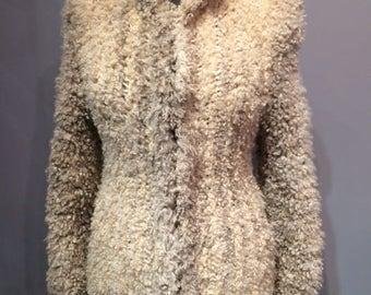 Hand Knit Lamb Jacket