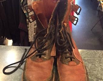 John Fluevog Combat Boots