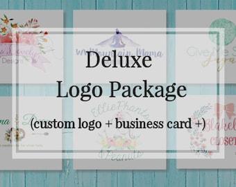 Custom Logo Design - Custom Branding Package - Branding - Logo Design - Logo - Business Card