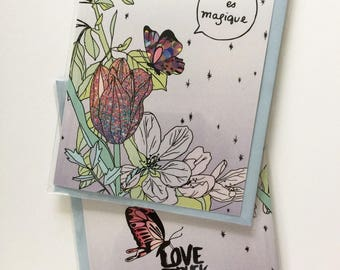 You're magic - greeting card - Lovestruck Prints