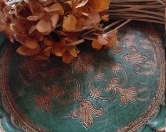 Vintage Italian Tole Tray