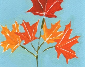 5 Maple Leaves