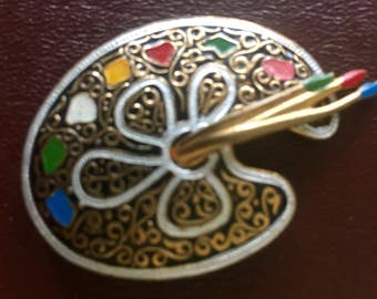 Artist Palette Pin from Spain