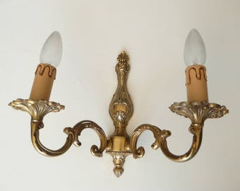 Pair of Vintage French Wall Lights Sconces