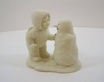 Items Similar To Snowbabies Snow Baby Antique Figurine