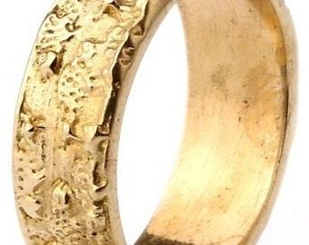 Mens Ring Womens Ring - 34G - gold ring band, gold ring, ring band, boho ring band, stack ring, gold stack ring, gold ring, cool ring