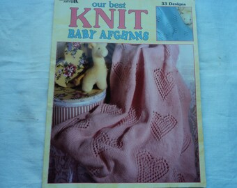 Leisure Arts Our Best Knit Baby Afghans 33 Designs