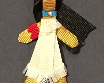Pocahontas ribbon sculpture