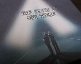X-Files Postcard