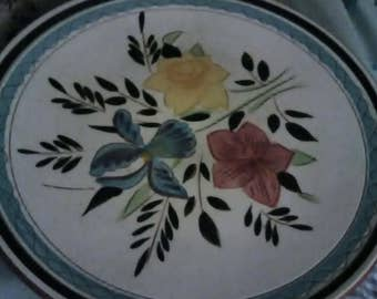 "Stangl Country Garden Lot of 2 Dinner Plates. 10"" across."