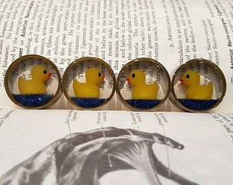 Pair of rubber duck plugs sizes 16mm and above.