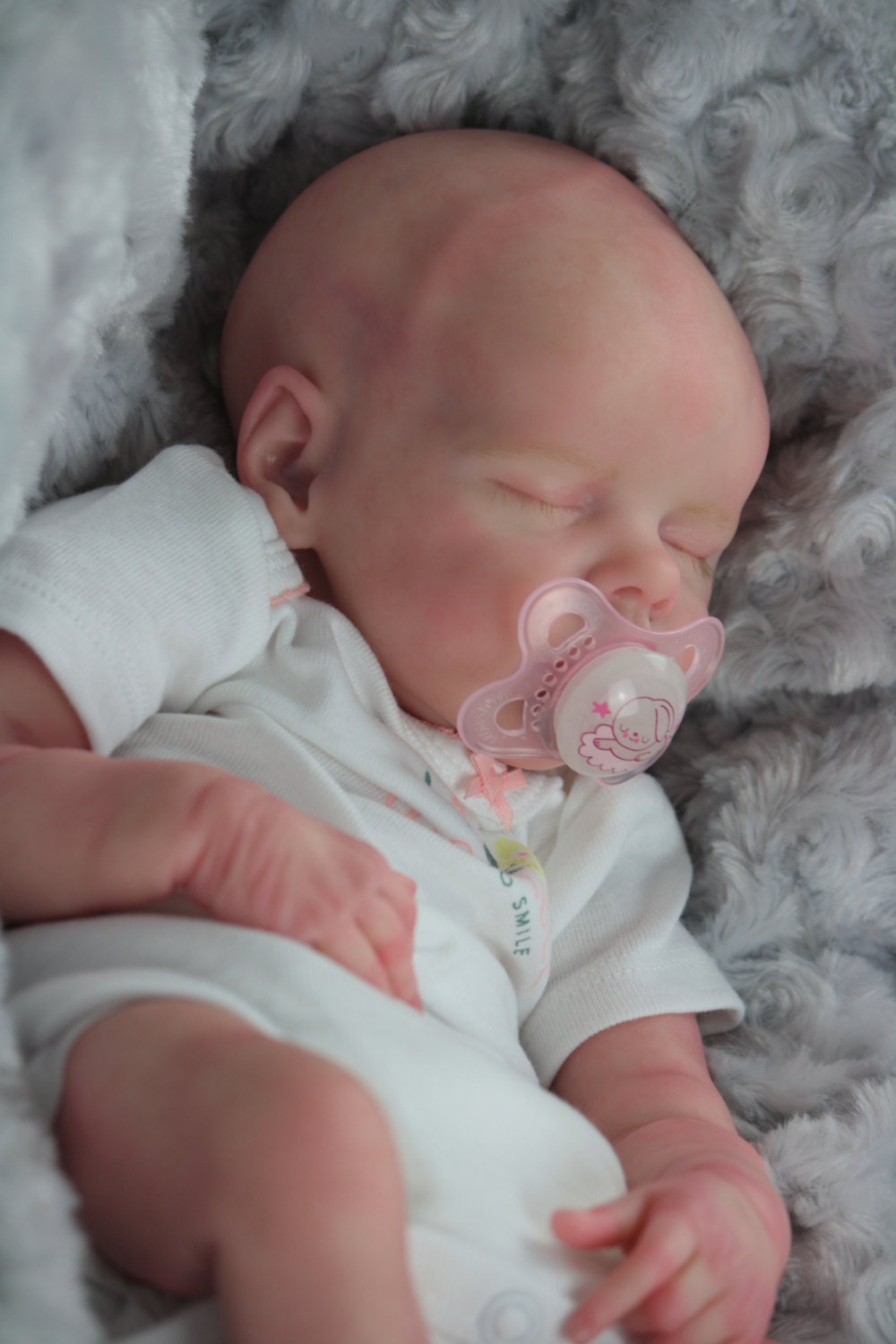 Twin B By Bonnie Brown Reborn Baby Doll With Certificate Of