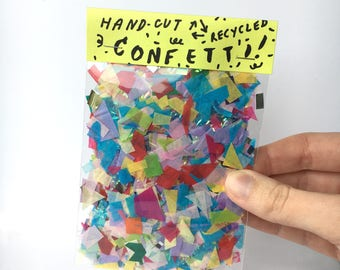 Hand-Cut Confetti Pack Recycled