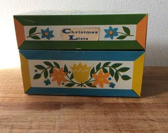Scandinavian Metal Recipes/File Box