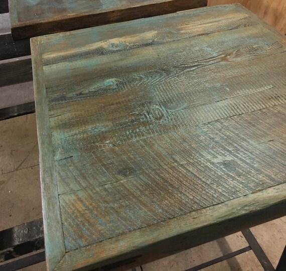 Dining table top reclaimed wood patina by FreshRestorations : il570xN1156538769oqnj from www.etsy.com size 570 x 540 jpeg 83kB