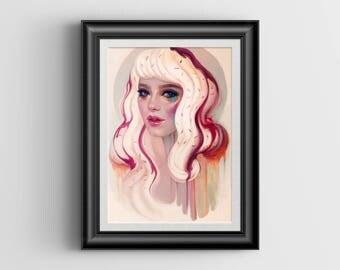 """à La Mode - 8""""x11.5"""" art print"""