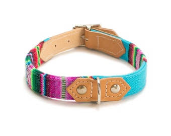 Dog Collar 'Inca Blue'