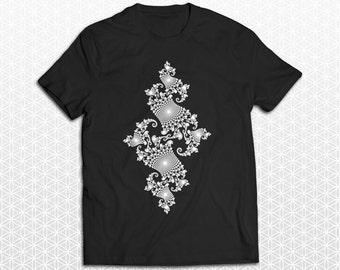 Julia Set Fractal Geometry Tshirt