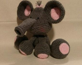 Amigurumi Elephant - made to order