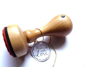 Stamp handmade with love